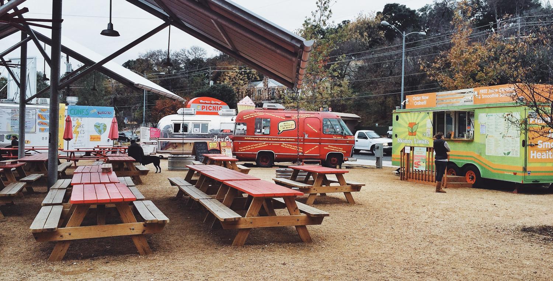 Austin Food Truck Parks Best Image Truck Kusaboshicom